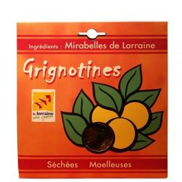 Grignotines : Mirabelles mi-cuites séchées et moelleuses 250g