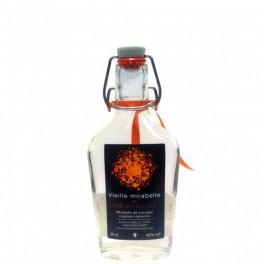 Flasque Vieille mirabelle de Lorraine traditionnelle 20cl 45% vol